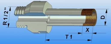 Diamond Drill for Ceramic/Flags